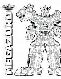 Power Rangers Coloring Pages Dino Charge Pdf Printable Super Free