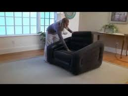 intex inflatable furniture. Intex Inflatable One Person Chair Sofa Bed In Action - Outdoorleisuredirect.co.uk YouTube Furniture O
