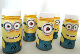 Creative Idea:Awesome Minion Bubble Containers Ideas Awesome Minion Bubble  Containers Ideas