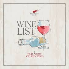 Free Wine List Template Wine List Menu Card Design Template Royalty Free Cliparts Vectors 12