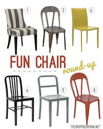 Fun Dining Room Chairs