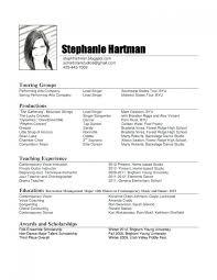 Music Resume Template Unique Download Free Music Resume Template Resume Template For Teacher