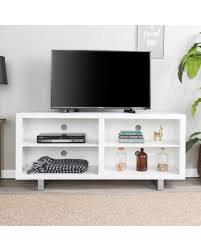 modern tv console. 58 Simple Modern TV Console With Metal Legs - White Saracina Home Tv T