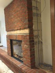 excellent brick veneer fireplaces brick veneer fireplace brick veneer fireplace install