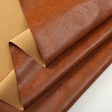 1 meter quality faux leather fabric for sofa soft artificial leather fabric for clothing wallpaper synthetic