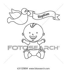 Battesimo Invito Disegno Clipart K31120694 Fotosearch