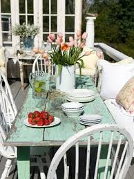 shabby chic outdoor furniture. 6 Hottest Outdoor Trends For 2017 » Shabby-chic-garden-furniture-nice-table Shabby Chic Furniture Hickory Dickory Decks