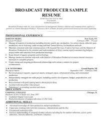 International Broadcast Engineer Sample Resume Fascinating Broadcast Engineering Sample Resume Colbroco
