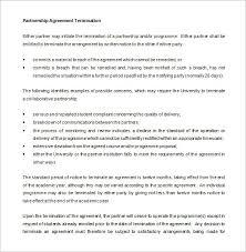 13+ Partnership Termination Letter Templates - Pdf, Doc | Free ...