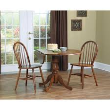 International Concepts Espresso Solid Wood Dropleaf Dining Table