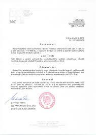 Нострификация диплома в Чехии Документы для нострификации  Нострификация диплома Чехия отказ
