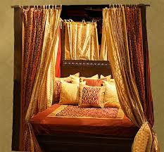 amazing indian and spanish style canopy bed tara design with four poster canopy  bed.