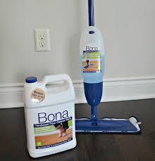 Blue Bona Spray Cleaning Laminate Floors Near White Plastc Bona Product  Cleaner Over Laminate Wooden ...