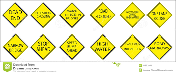 american traffic signs and meanings.  American Yellow American Road Signs In Traffic And Meanings T
