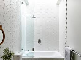 Small Picture Best 10 Hexagon tile bathroom ideas on Pinterest Shower White