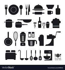 kitchen tools vector. Unique Tools Kitchen Tool Icons Collection Vector Image To Tools Vector S