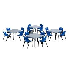 blue and white chair. Lifetime 20-Piece Blue And White Children\u0027s Tables Chairs Set Chair