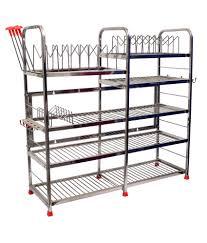 Kitchen Racks Stainless Steel Maharaja Stainless Steel Smart Modern Kitchen Rack Stand Buy