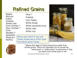 Refined Grains Refined Grains Vs Wholegrains Which Do You Consume More Why