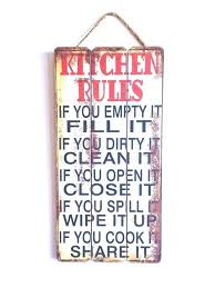kitchen rules sign kitchen rules sign michaels kitchen rules