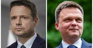 Szymon hołownia coraz prężniej buduje swoją formację polityczną. Elections 2020 Rafal Trzaskowski And Szymon Holownia Discussion About Presidency World Today News