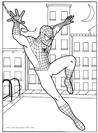 Small Picture Free Spiderman Coloring Pages For ToddlersSpidermanPrintable