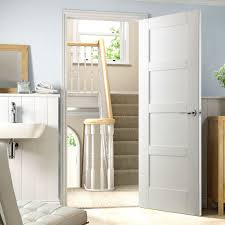 4 panel white interior doors. Shaker 4 Panel White Primed Door - Lifestyle Image Interior Doors