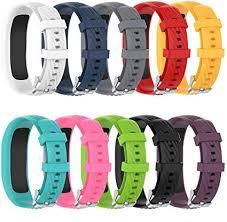 ZSZCXD Compatible for Garmin Vivofit 4 <b>Band</b>, <b>Newest Silicone</b> ...