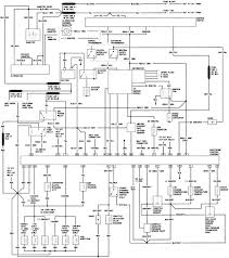 1987 ford ranger body wiring diagram schematic inside 95