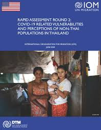 COVID-19 Related Vulnerabilities and Perceptions of Non-Thai Populations in  Thailand (Round Two)