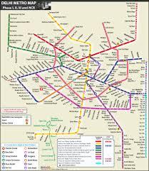 Dmrc Fare Chart Delhi Metro Map Complete Route Details Of Metro Map Delhi