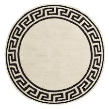 round greek key border rug  modern holding category for inventory