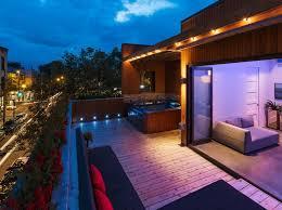 terrace lighting. Brilliant Led Lighting Idea For Terrace Decoist Terrace Lighting L