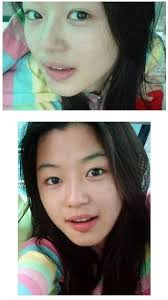 makeup artists who ve worked with jeon ji hyun say her skin is soft to the touch and seamless in texture jeon ji hyun is known to care for her looks