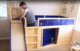 bunk beds with slide ikea. Brilliant Slide Worldu0027s Best Dad Builds Slide With Bunk Beds In Bunk Beds With Slide Ikea E