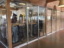 retail interior glass doors