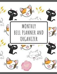 Monthly Bill Planner And Organizer Financial Budget Planner