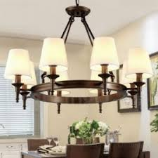 french country pendant lighting. 8 Light Nordic, Country/Rustic Pendant Lights With Fabric Shade For Living Room, French Country Lighting