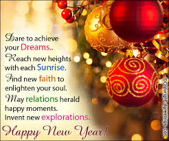 New Year Greeting Quote
