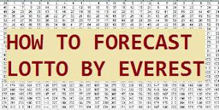 Lotto Chart Lotto 4cast How To Forecast And Win Lotto By Yourself