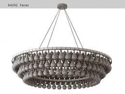 arctic pear chandelier round 120 9