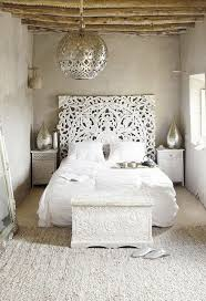 White Stylish Moroccan Bedroom