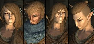 Skyrim Hair Style Mod salt and wind rough hair for ks hairdos at skyrim nexus mods 8449 by wearticles.com