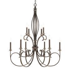 chandeliers cosette 10 light chandelier 10 light crystal chandelier by harrison lane 10 light chandelier