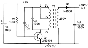 dc voltage converter circuits nuts volts magazine for the figure 10 shows a practical low power high voltage generator circuit of this type