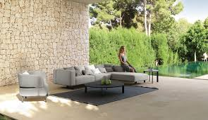 It features clean lines and masterful craftsmanship, enhanced by the use of a handsomely luxurious material like cowhide, singularly able to imbue any object with tangible added value, impervious to the effects of time and fleeting fashions. Eden Modular Sofa Italian Garden Furniture Talenti