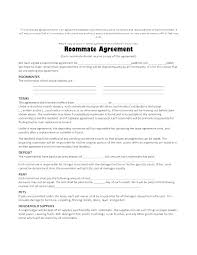 One Page Lease Agreement Free Apartment Lease Agreement Template 1 Page Rental