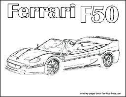 Coloring Pages Of Ferrari Coloring Pages Of Ferrari Enzo Ionheater