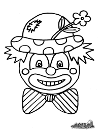 Clown Coloring Pages Yourbedtimestory Com Coloring