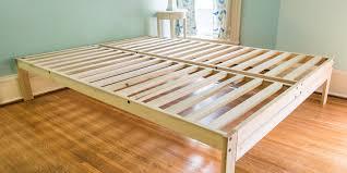 gap between mattress and bed frame. Plain And The Best Platform Bed Frames Under 300 Throughout Gap Between Mattress And Frame S